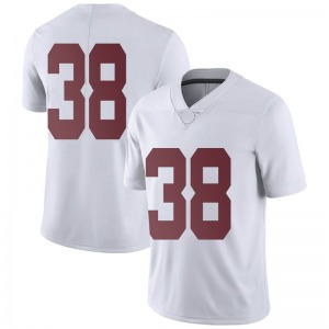 Sean Kelly Nike Alabama Crimson Tide Men's Limited Football College Jersey - White