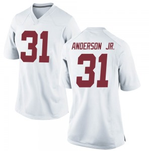 Will Anderson Jr. Nike Alabama Crimson Tide Women's Game Football College Jersey - White