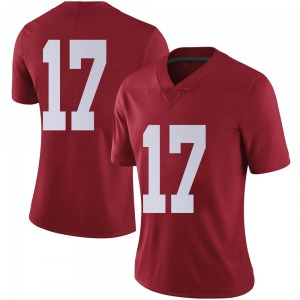 Women's Jaylen Waddle Nike Alabama Crimson Tide Women's Limited Crimson Football College Jersey