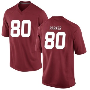 Youth Michael Parker Nike Alabama Crimson Tide Youth Game Crimson Football College Jersey