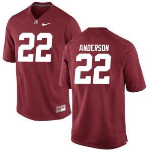 Youth Ryan Anderson Alabama Crimson Tide Youth Authentic Jersey - Crimson